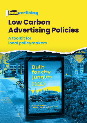 Low Carbon Advertising Policy local policymakers guide front cover